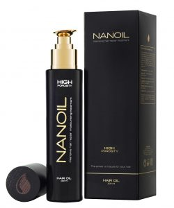Nanoil For High Porosity Hair